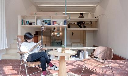 单间22平半圆厅公寓装修