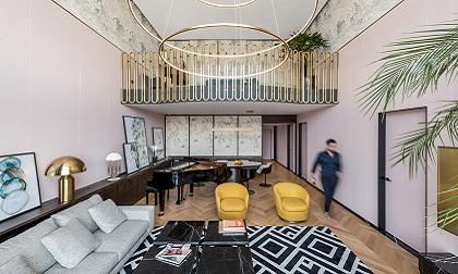 318平复式公寓设计
