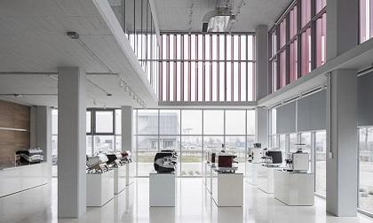 MCE生产车间和新总部