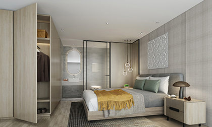 单间30平公寓设计