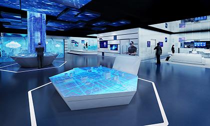 国网多媒体展厅