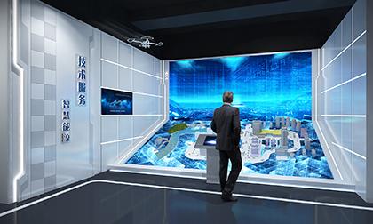 通信企业展厅