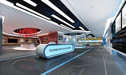 建筑企业展厅