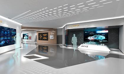 信息化企业展厅