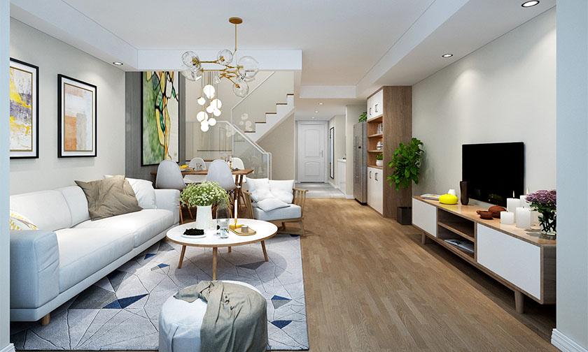 单身复式公寓