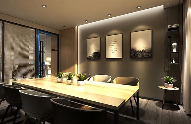办公室装修设计中隔断的种类以及优点
