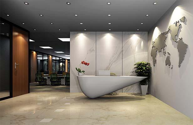 办公室设计的时候有没有必要设计企业展厅